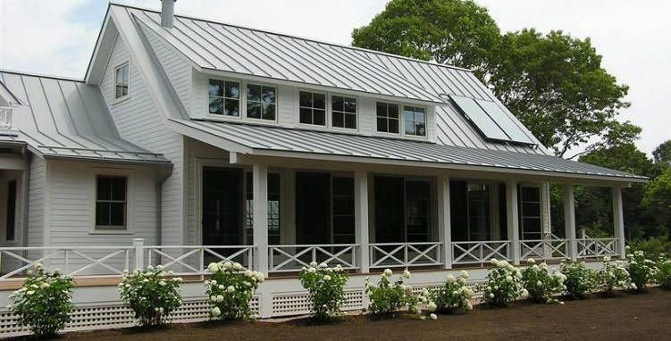 Best The Light Gray Stone Coated Metal Roof Covering The Cedar 640 x 480
