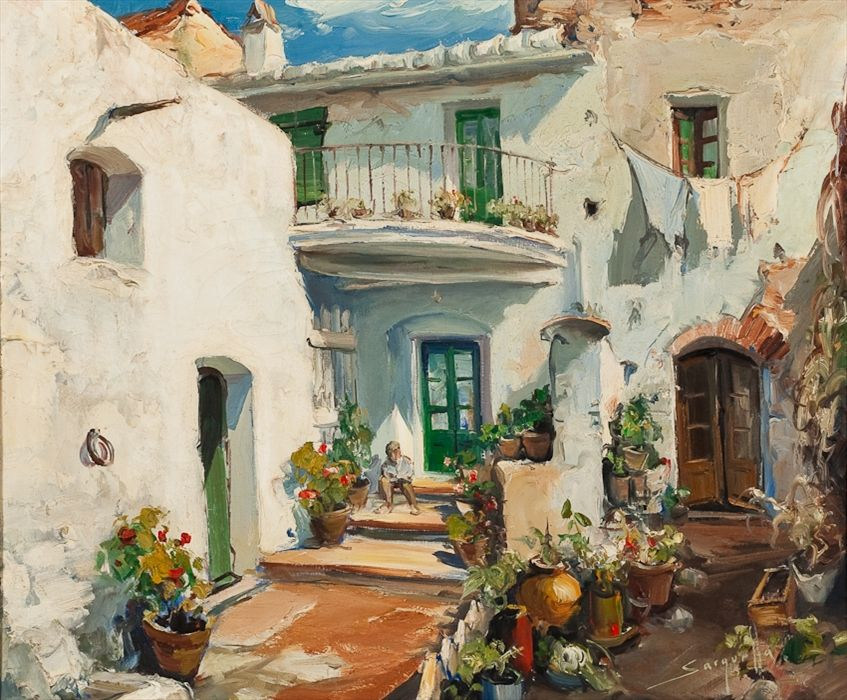 Josep Sarquella Escobet Spanish 1928 Peinture