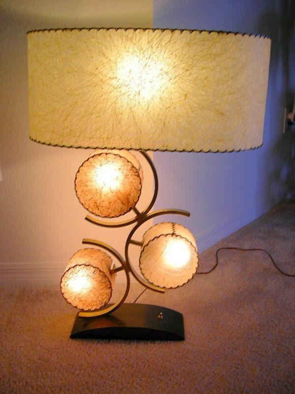 Moderne Tischlampen, Mitte Des Jahrhunderts Moderne Lampen, Vintage Lampen,  Lampenschirme, Lampenlicht