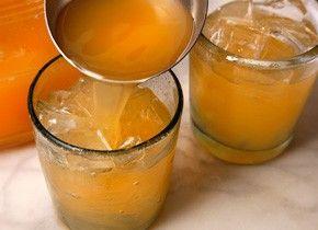 Cantaloupe Agua Fresca. recipes-i-want-to-try