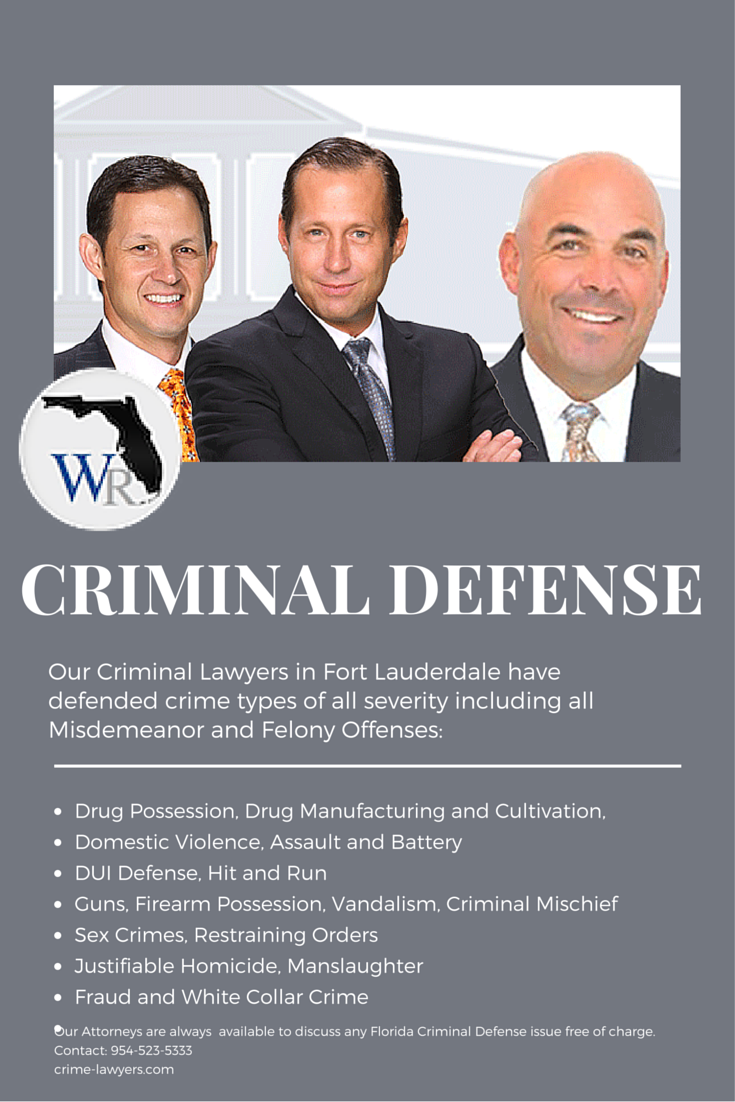 Our criminal defense attorneys in Fort Lauderdale don't even