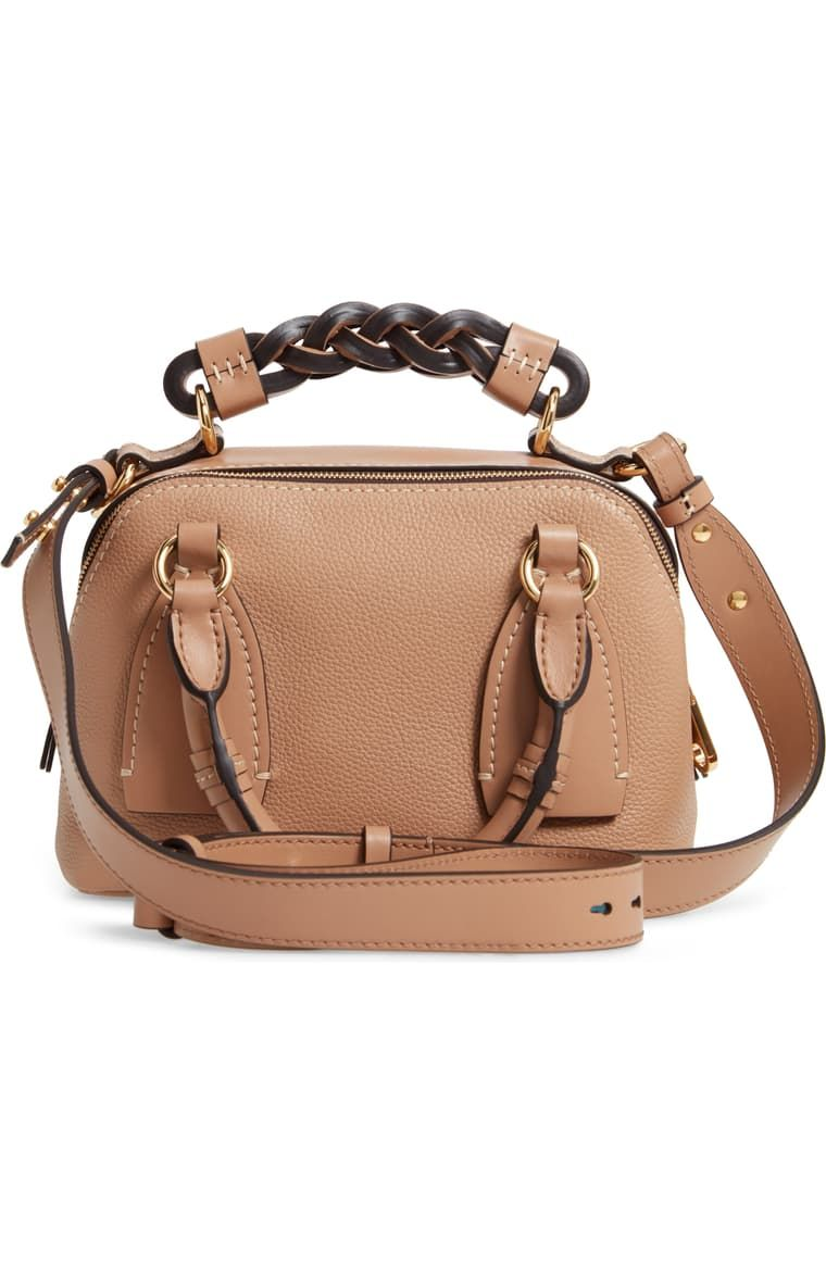Chloe Small Daria Leather Day Bag Nordstrom In 2021 Day Bag Leather Bags