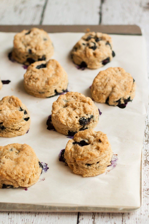 Vegan Blueberry Scones a delicious recipe with no dairy