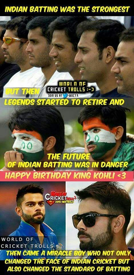 happy birthday virat cricket quotes