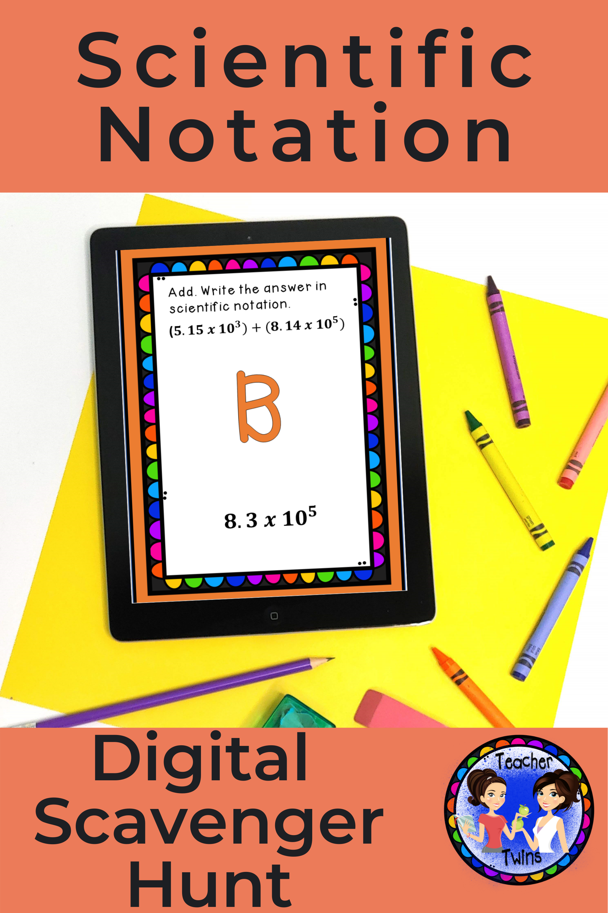 Computation With Numbers In Scientific Notation Scavenger