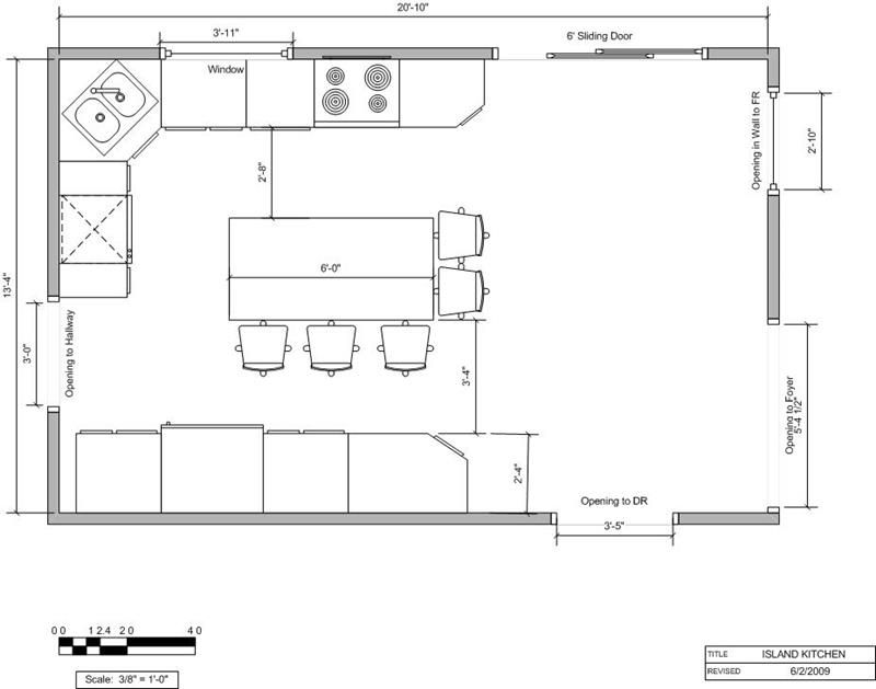 The Best Way To Lay Out A Kitchen Kitchen Floor Plans Modern Kitchen Floor Plans Small Kitchen Floor Plans