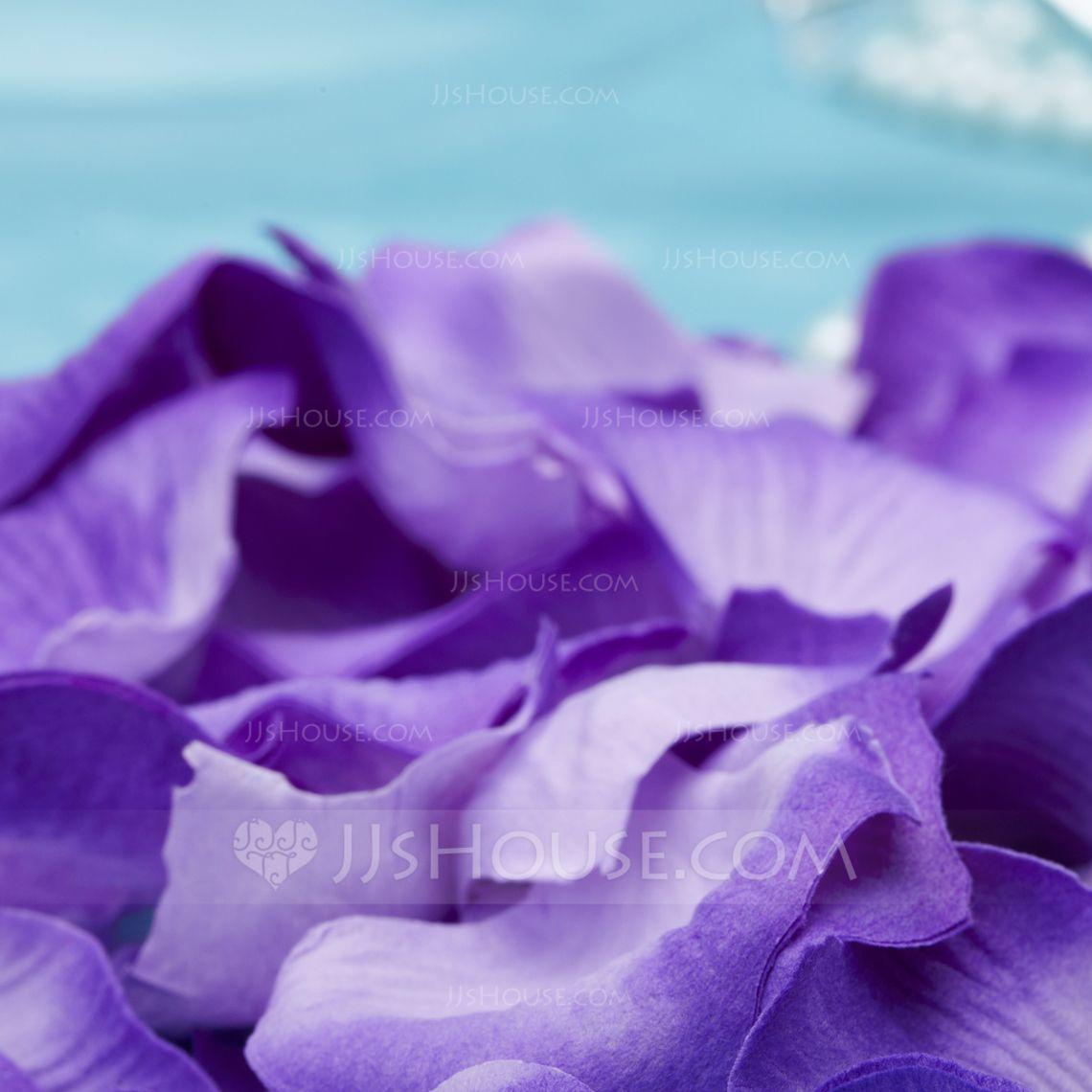 Purple Rose Petals Set Of 5 Packs 123058144 Jjshouse Wedding