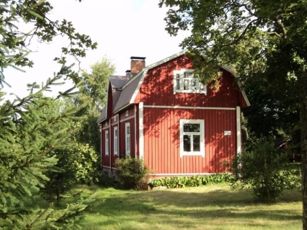 Old House From 1800 Century In Rauma Stuga Sommarstuga Inredning