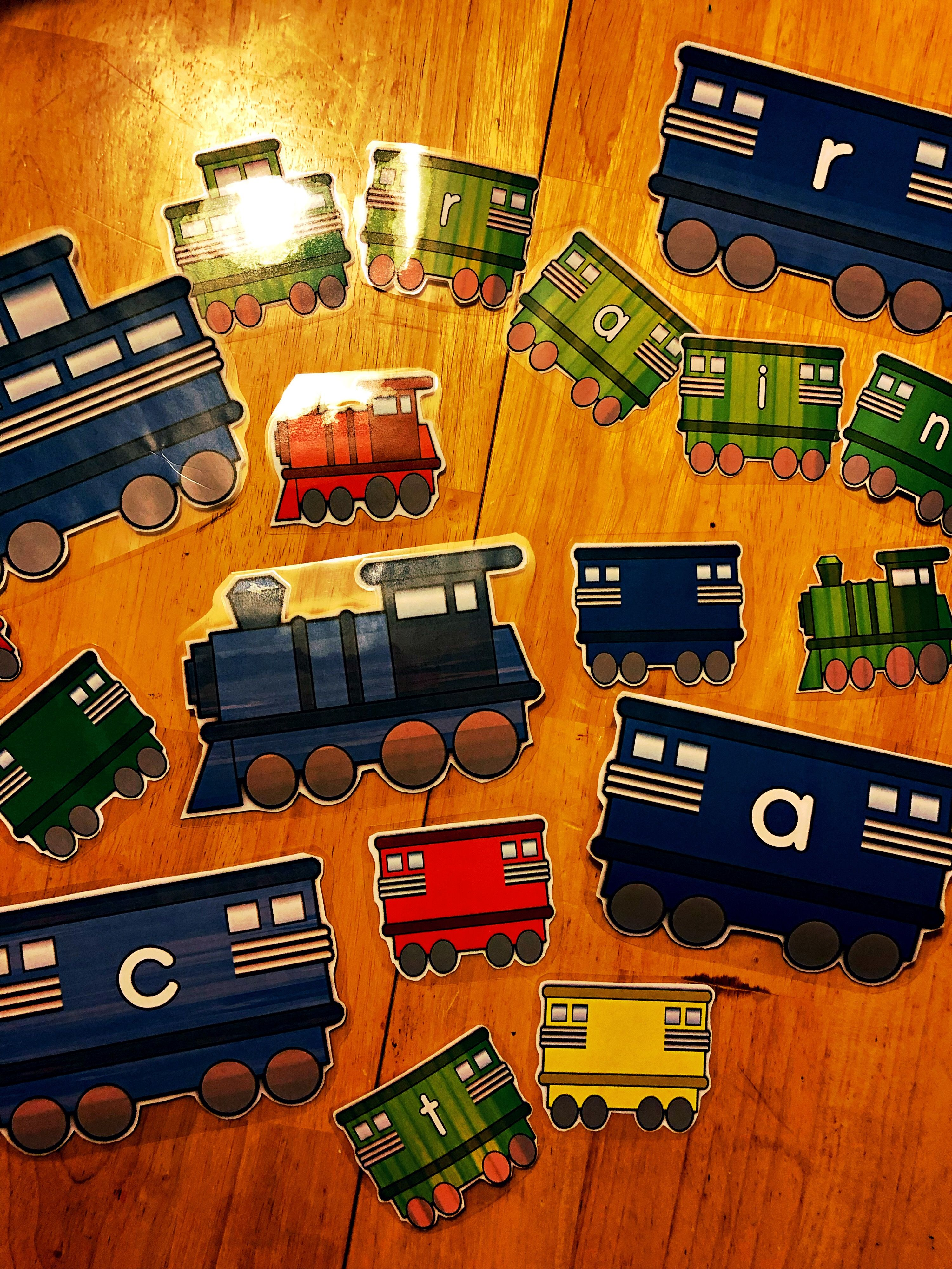 Train Letter Decorations For The Classroom Eslkidz