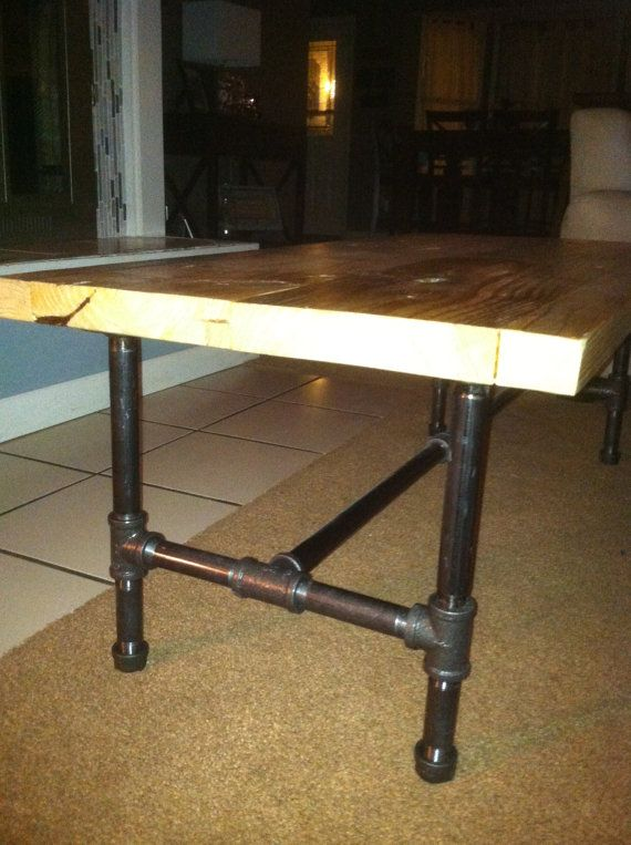 High Quality Industrial Pipe Leg Coffee Table By Lapalletcreations On Etsy, $235.00