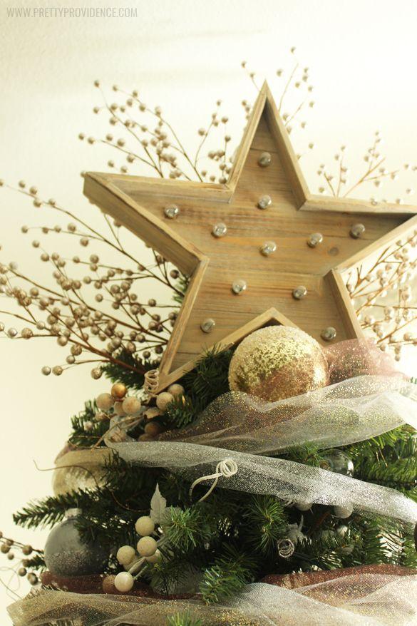 Whimsical Precious Metals Dream Christmas Tree   Metal ...