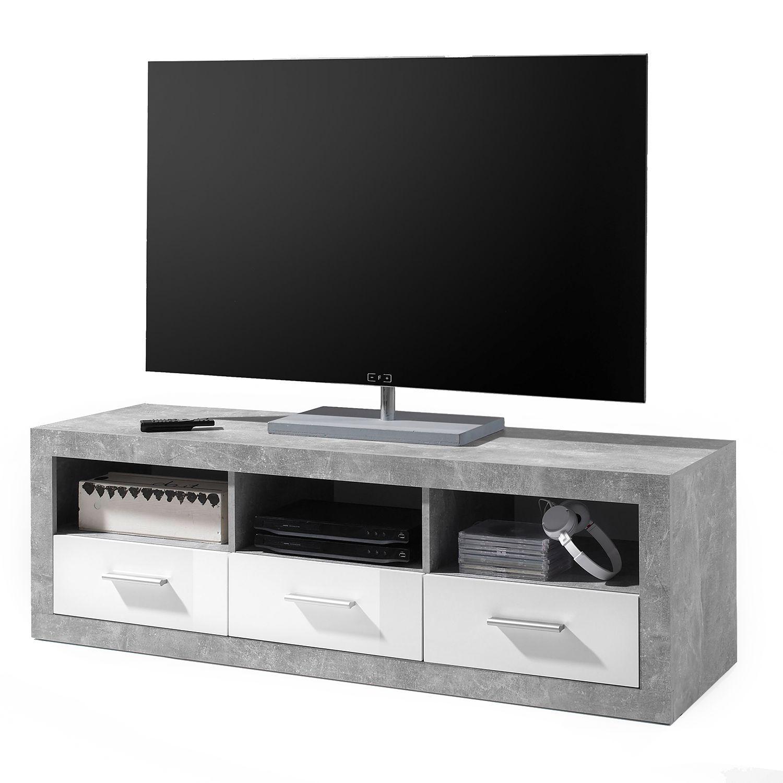 TV Lowboard Rognan   Beton Dekor / Weiß, Fredriks Jetzt Bestellen Unter:  Https://moebel.ladendirekt.de/wohnzimmer/tv Hifi Moebel/tv Lowboards/?uidu003d11c8361f   ...