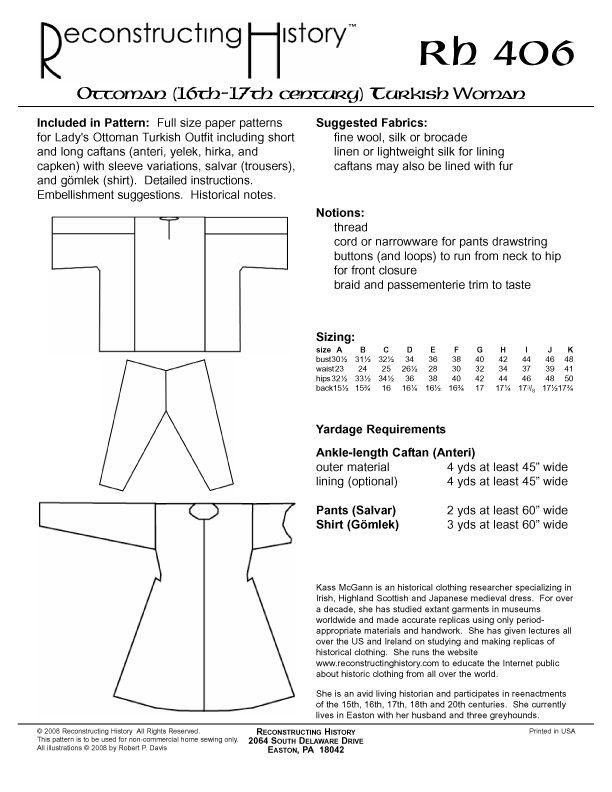 Rh406backcover Jpg 612 792 Pixels Persian Women Womens Sewing