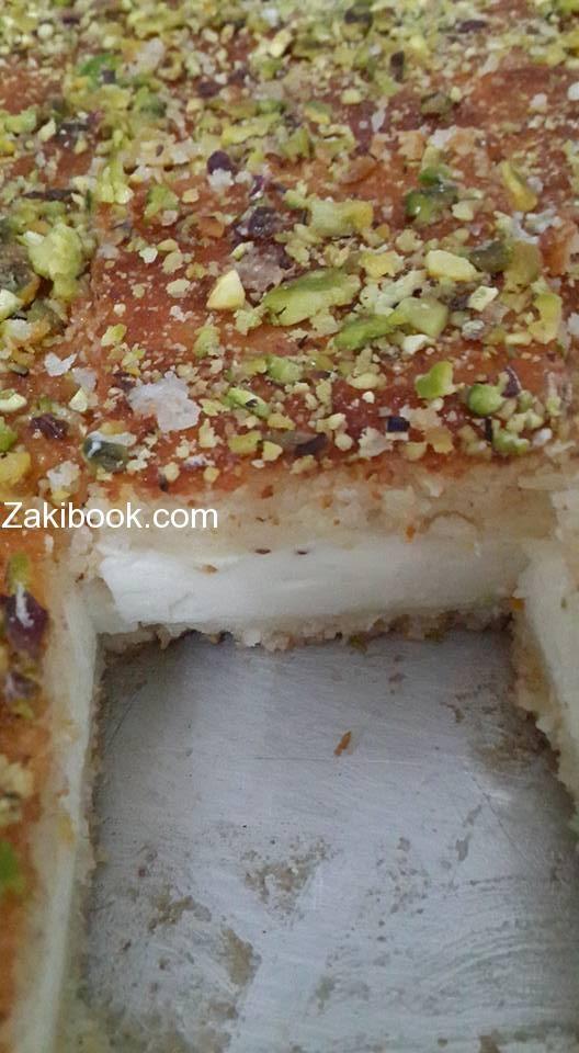 وصفة ناجحة ومجربة للبسبوسة بالقشطة زاكي Middle Eastern Desserts Ramadan Recipes Ramadan Recipes Iftar