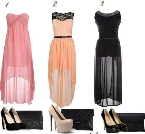 Vestidos asimétricos :)