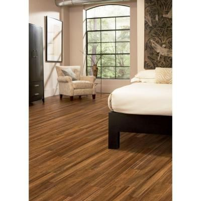 Home Legend Matte Natural Acacia 3 8 In Thick X 5 In Wide X 47 1 4 In Length Click Lock H Solid Hardwood Floors Engineered Hardwood Flooring Hardwood Floors