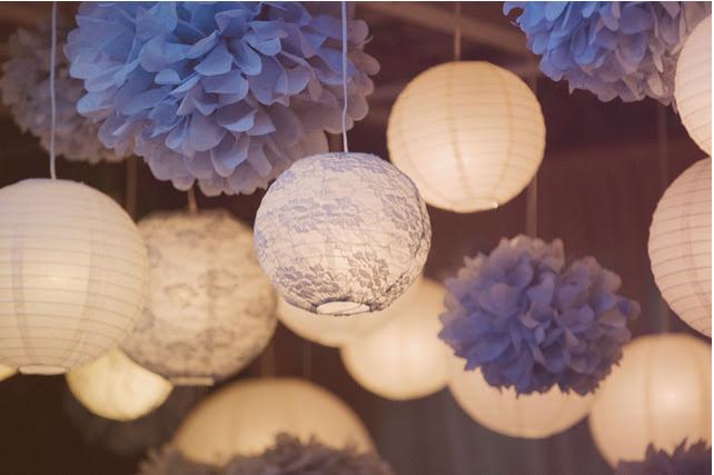 Love the light pom poms bolas y huevos decorados - Bolas transparentes para decorar ...