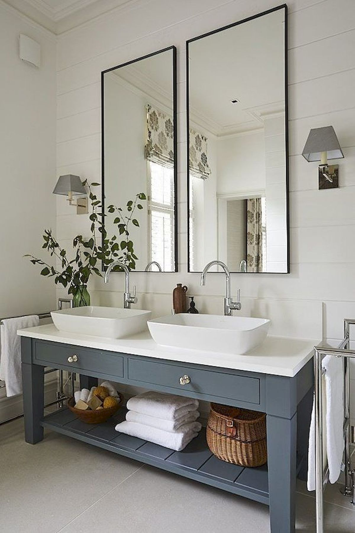 90 Great Bathroom Mirror Ideas Modern Farmhouse Bathroom Bathroom Interior Bathroom Interior Design