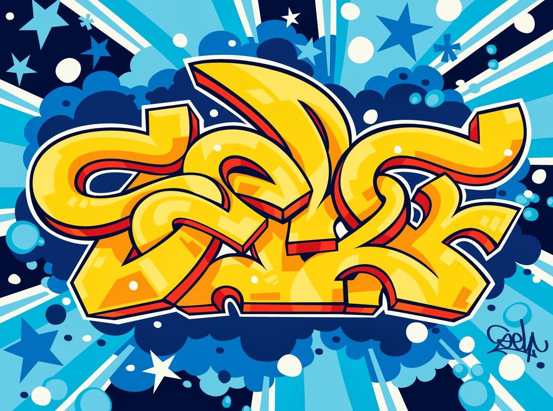 Graffiti Art Wallpaper Graffiti Pinterest ~ Papel De Parede Grafite Para Quarto
