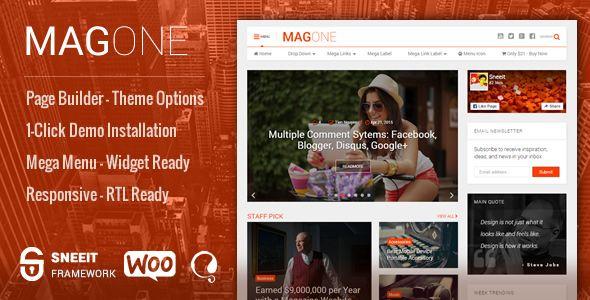 magone v5 3 responsive magazine news wordpress theme blogger