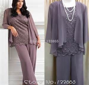 Lace Woman Mother Of The Bride Pant Suits 2015 Formal Plus Size