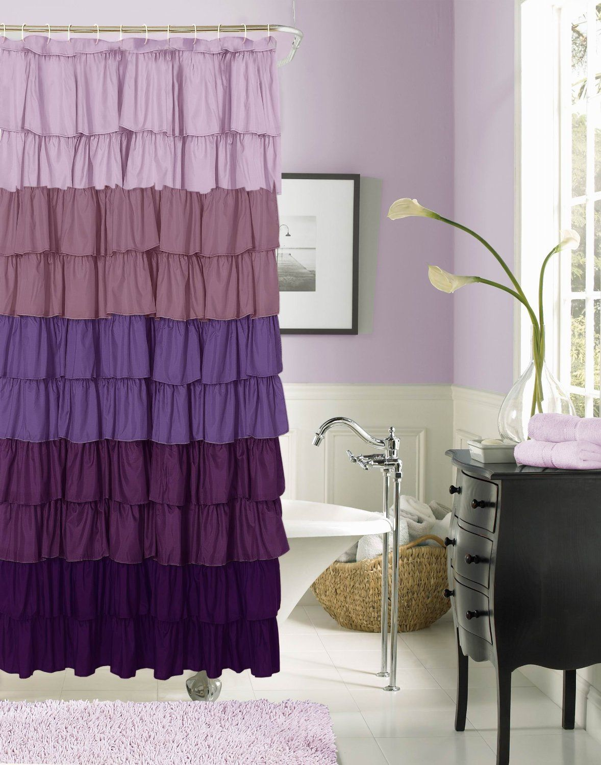Bathroom Sets Design Ideas with Images Home Ruffled Shower