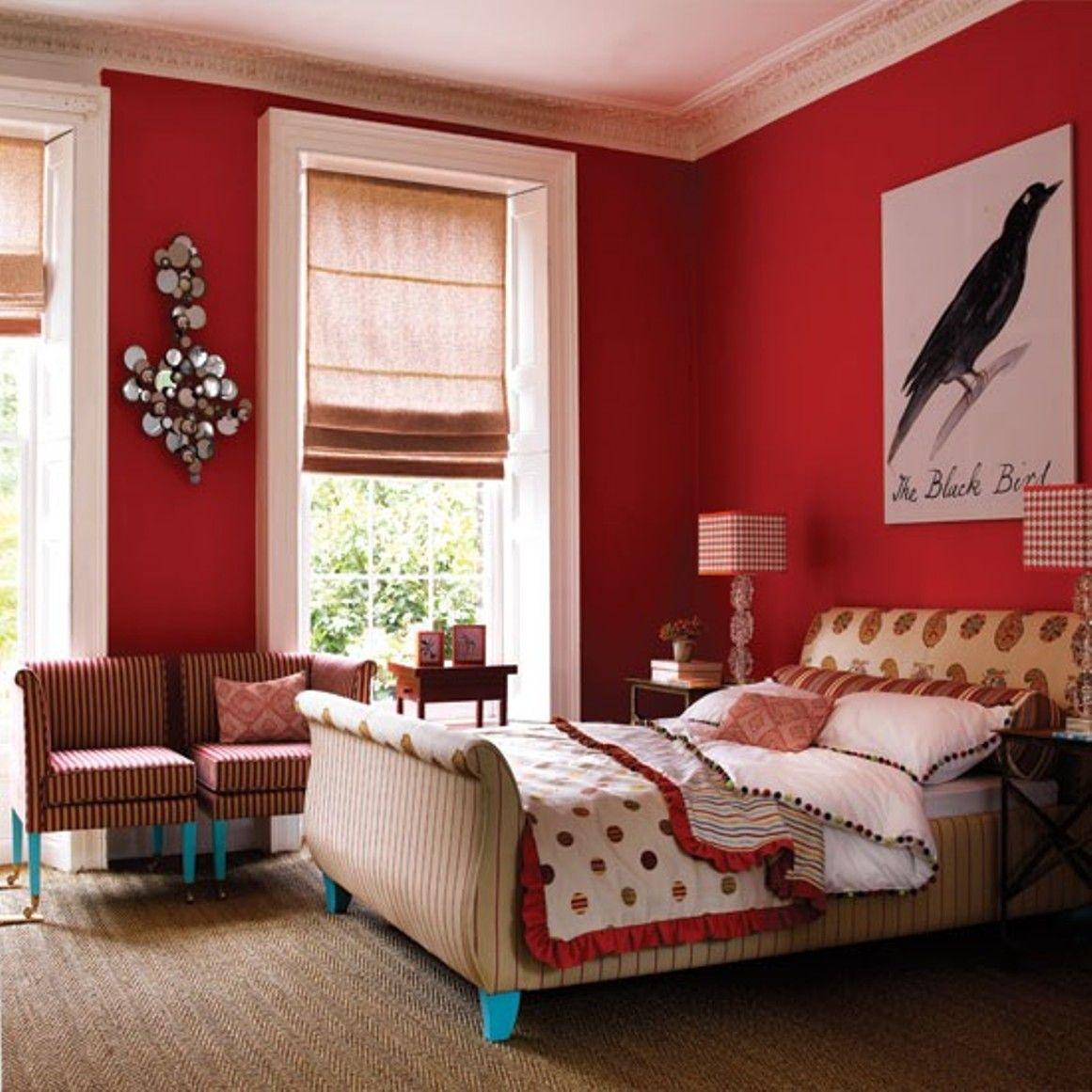 Bedroom , Exciting Warm Bedroom Colors : Bold Warm Bedroom Colors In ...