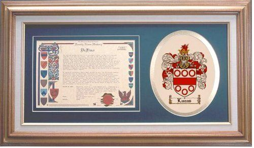 $109.99 Lucas Family Name History and Coat of Arms / Family Crest