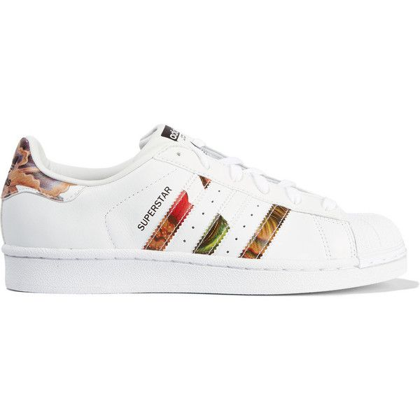 adidas Originals Superstar floral-print leather sneakers, Women's,... (1,670