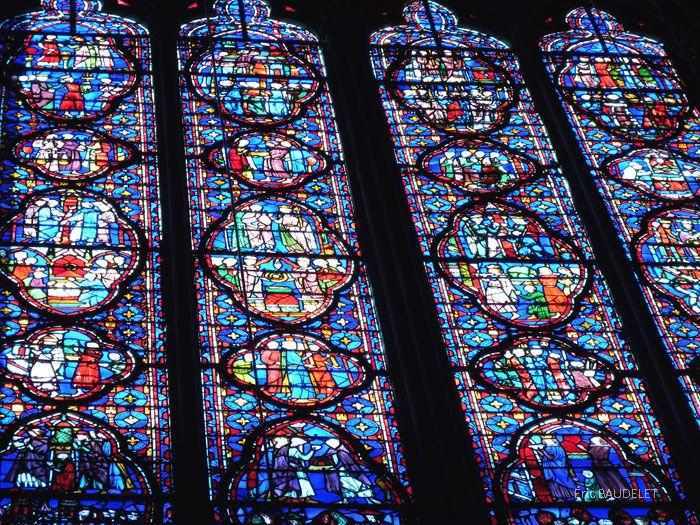 Saint chapelle Vitraux