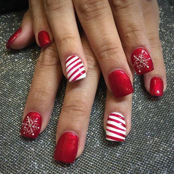 17 elegant nail design ideas for Thanksgiving - 17 Elegant Nail Design Ideas For Thanksgiving Thanksgiving