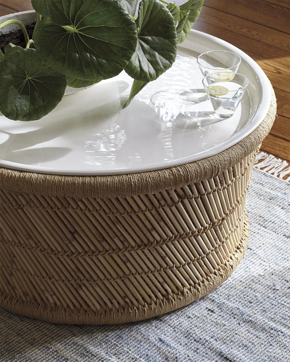 Market Coffee Table Coffee Table Coffee Table White Bamboo Coffee Table [ 1250 x 1000 Pixel ]