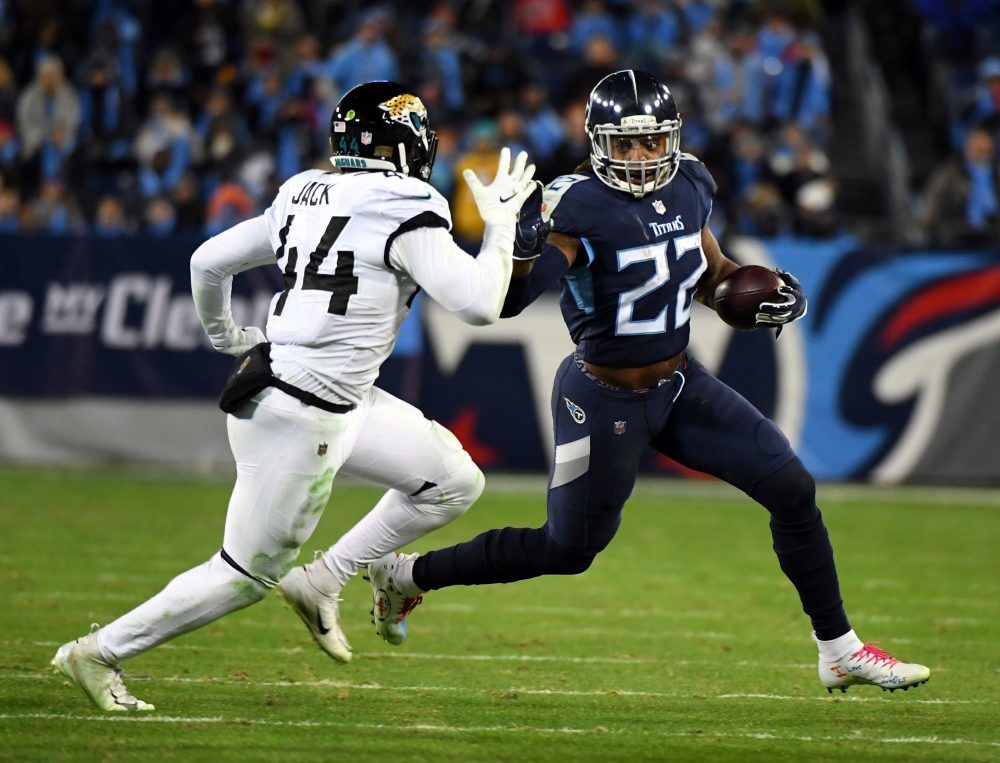 Derrick Henry is a monster Tennessee titans, Titans