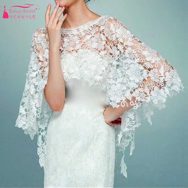 Find More Wedding Jackets / Wrap Information about Lace Elegant ...