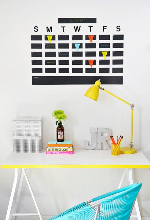 17 Useful DIY Calendars And Planners To Stay Organized  Easy To
