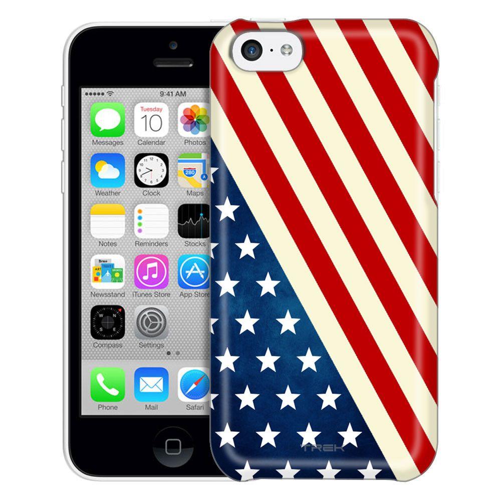 Apple Iphone 5c Slanted American Flag Case American Flag Case Apple Iphone 5c Iphone