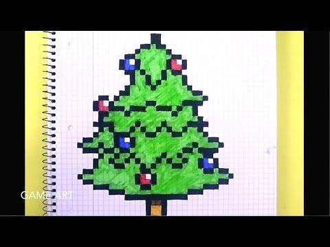 3 Pixel Sapin De Noël Youtube Diy Bricolages