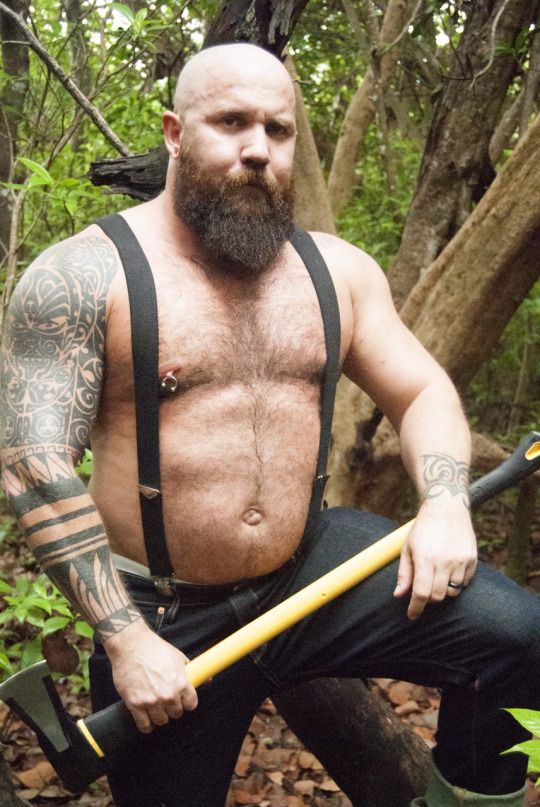 grizzly-pig. HOT Dad bod. | G.I.L F. | Hairy men, Bear men ...