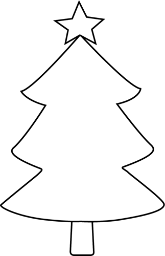 Https Www Seekpng Com Png Full 10 105565 Christmas Tree Clipart Black And White Christma In 2020 Christmas Tree Template Christmas Tree Clipart Christmas Tree Crafts