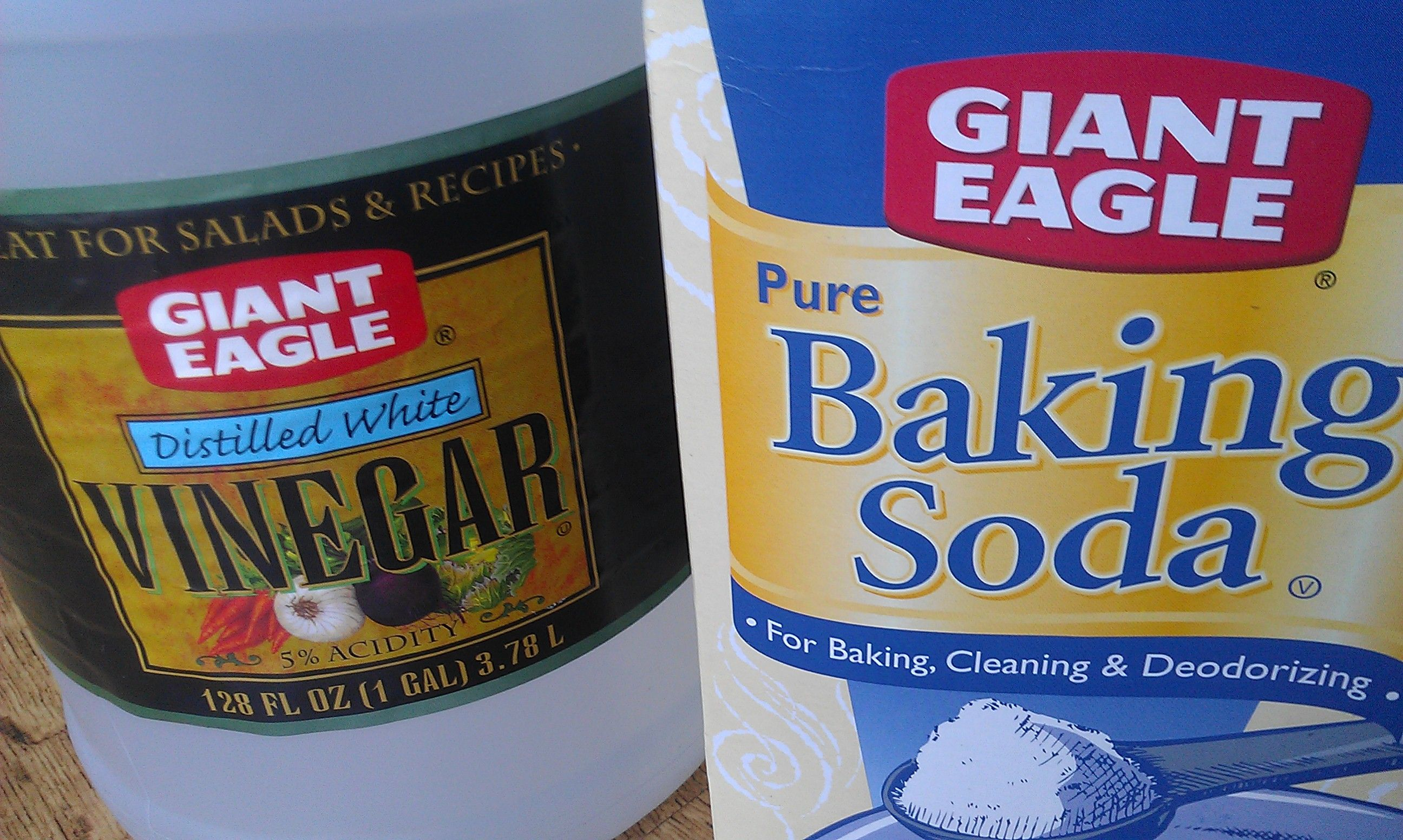 DIY Vinegar and Baking Soda Drain Cleaner Baking soda
