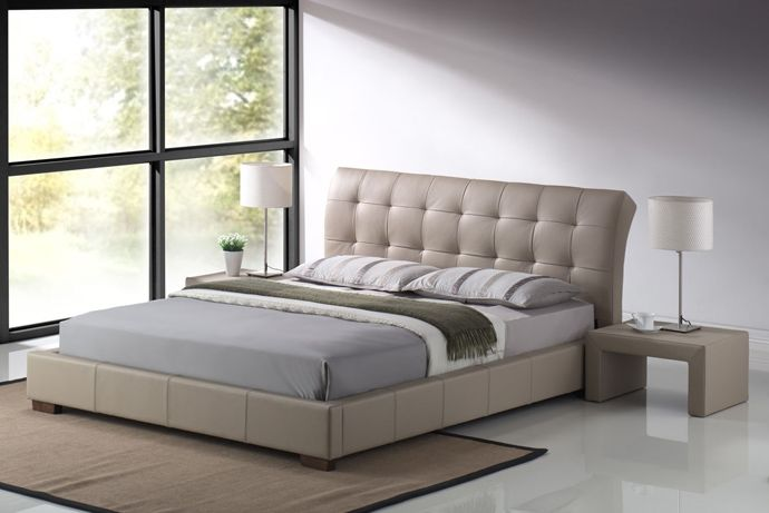 5 Great Leather Beds To Spice Up Your Bedroom By Wedo Modern Bed Frame Bed Frame Design Leather Bed King size leather bed frame