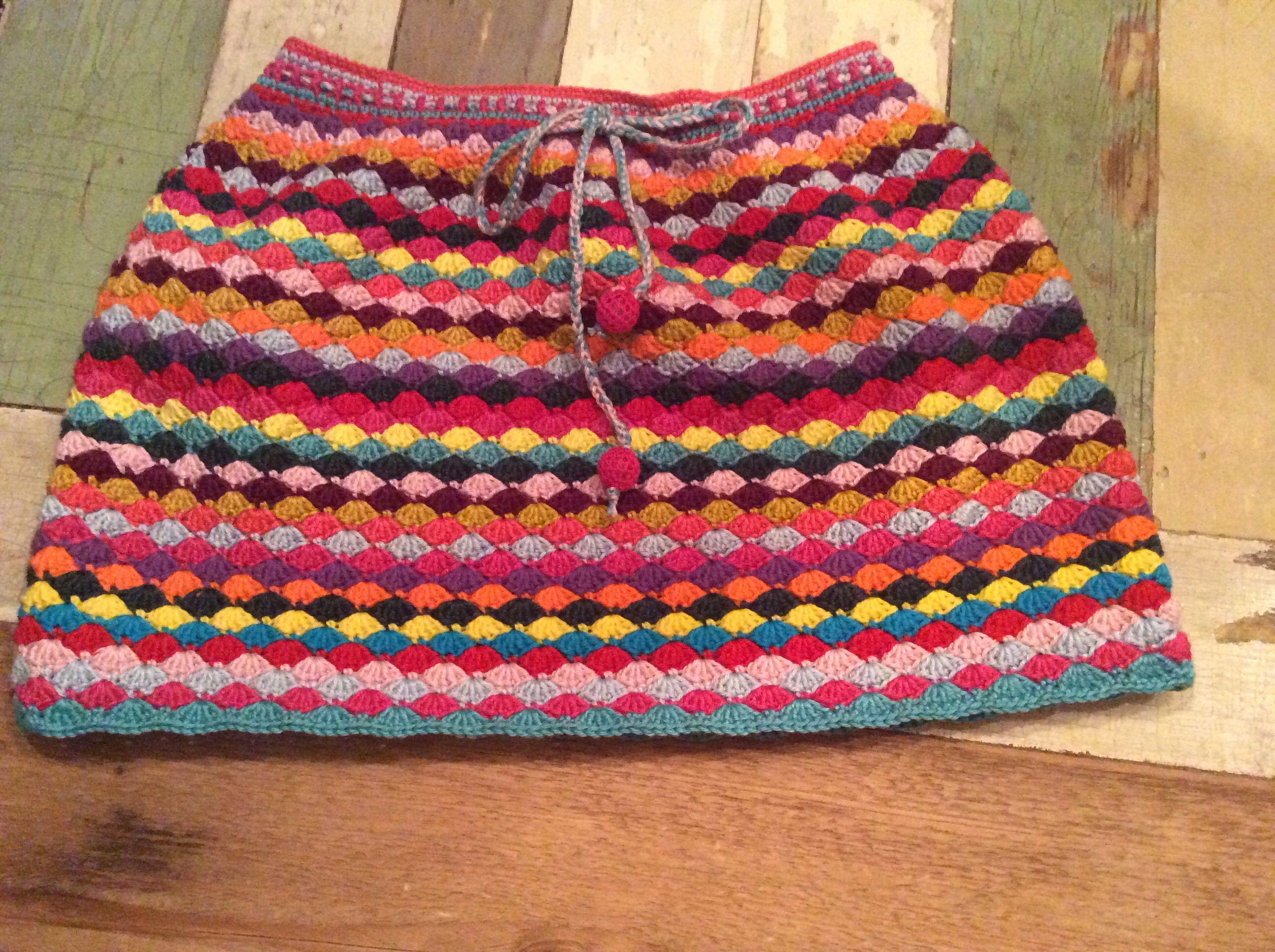 Gehaakt Rokje Maat 116122 Haken Crochet Knitting En Little Things