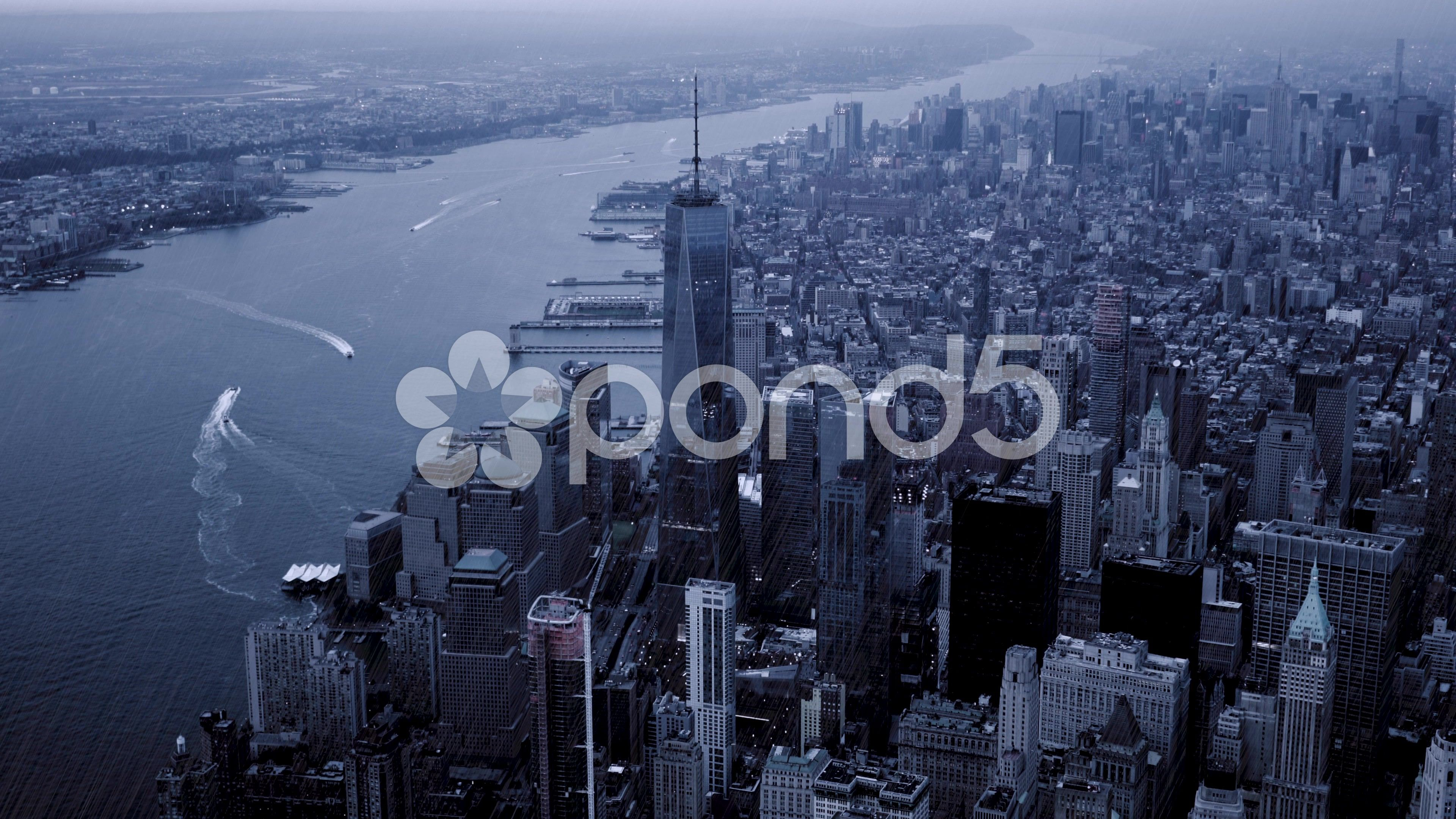 Raining Day In New York City Weather Season Change Background Stock Footage City Weather York Raining New York City City New York City Weather