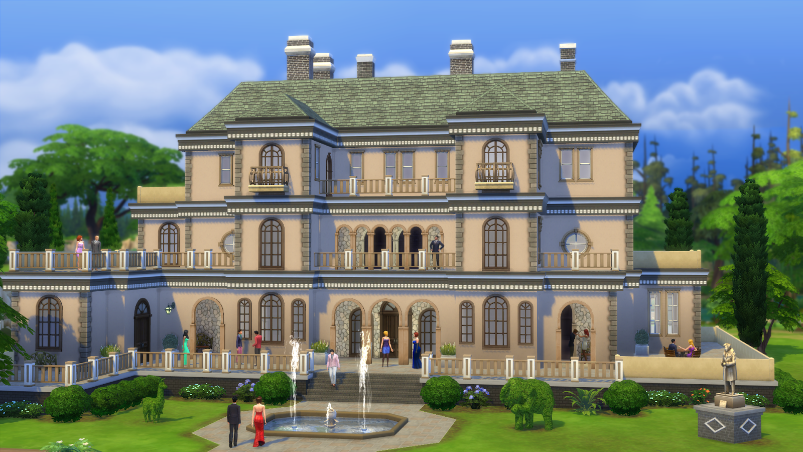 I will be building and creating for The Sims 4 and I suspect many