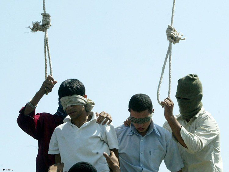 Image result for iran gay executions