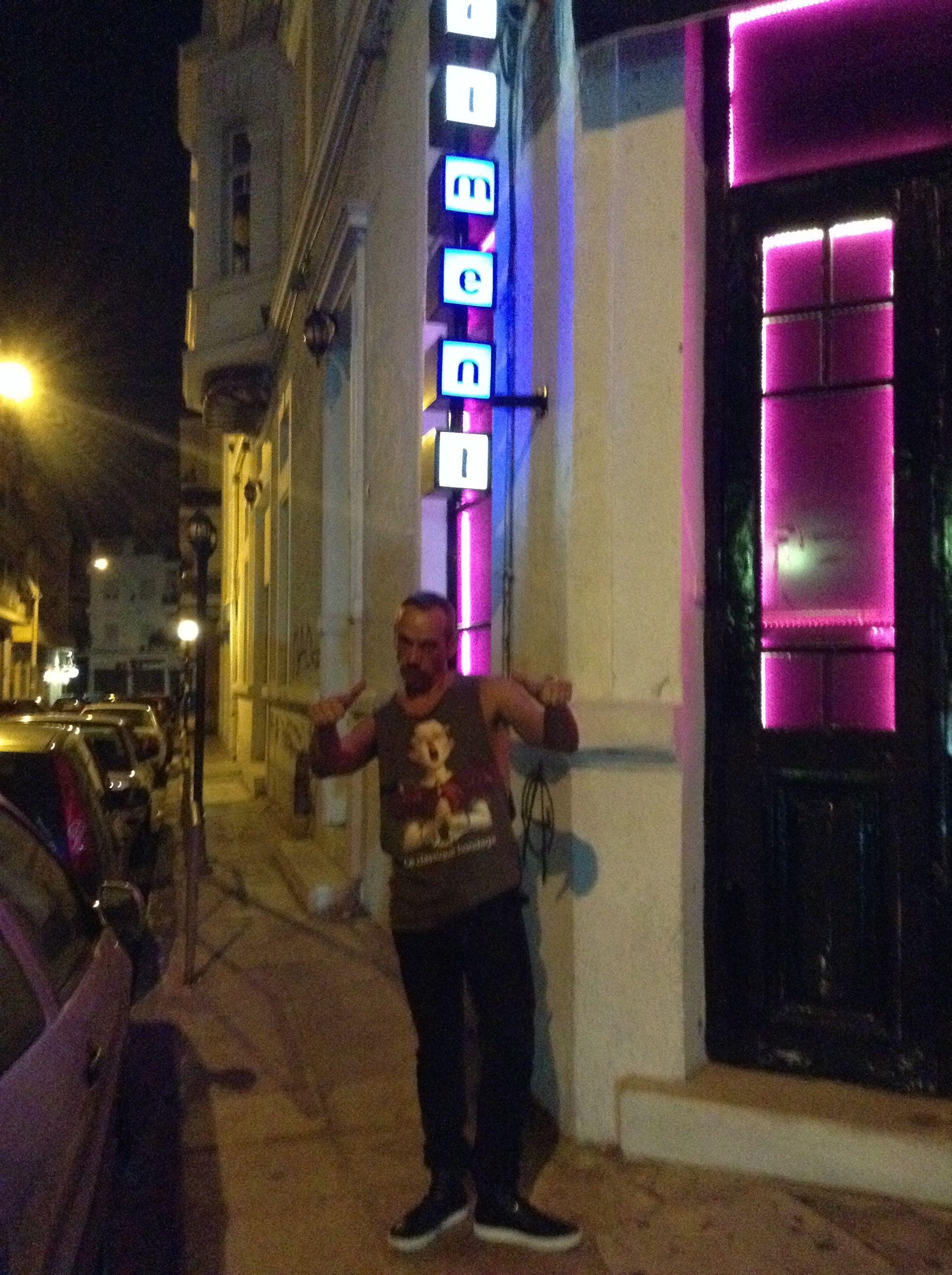 Opening The Apartment Athens Club Nikos Arts In La Clasique T Shirt