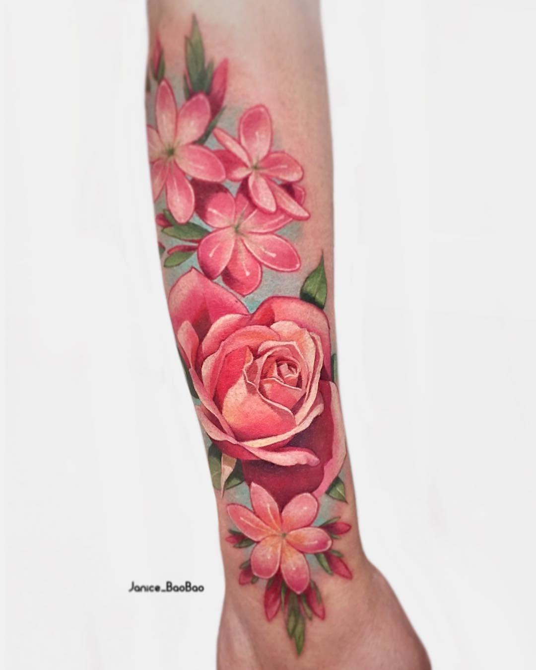 Tattoo artist Janice Bao Bao color authors style illustrative neo ...