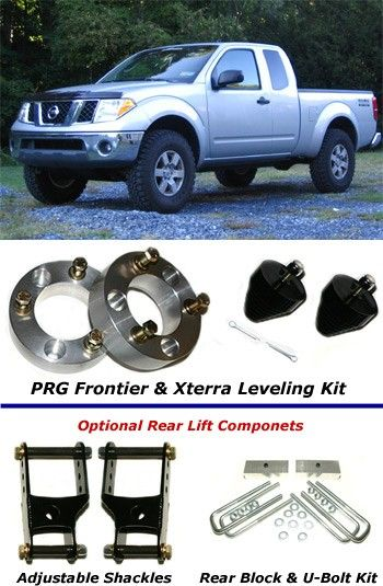 "3/"" Front 2/"" Rear Lift Leveling Kit For 2005-2018 Nissan Frontier 4WD Spacers"