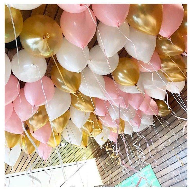 Diy Wedding Decoration Ideas That Would Make Your Big Day: Rose Gold Balloons, Wedding