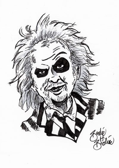 Beetlejuice Cartoon Drawing Google Search With Images